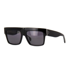94e7e12b3f9f Céline Black Cl 41756 S Zz-top Black Grey Polarized Sunglasses - Tradesy
