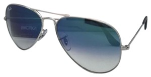 Ray-Ban Ray-Ban Sunglasses RB 3025 LARGE METAL 003/3F 62-14 Silver Aviator