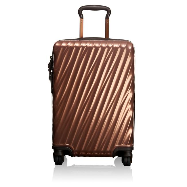 Item - International 19 Degree Carry-on Luggage 228660 Copper Polycarbonate Weekend/Travel Bag