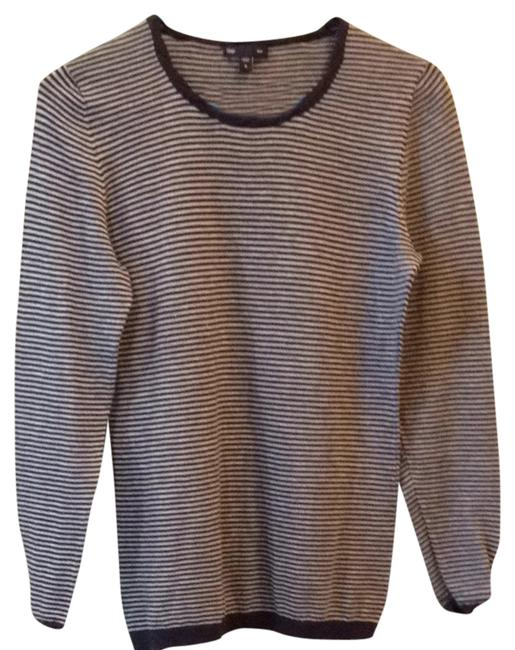 Gap Top Blue and gray striped