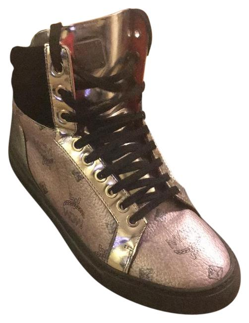 Item - Black Red and Silver Sneakers Size EU 36 (Approx. US 6) Regular (M, B)