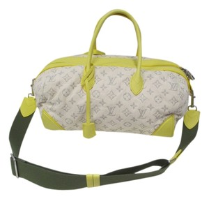 Louis Vuitton Satchel in silver and yellow