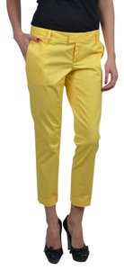 DSquared Capri/Cropped Pants Yellow