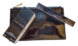 Marc Jacobs New Never Used Makeup Bag With Foundation And Lip Liner