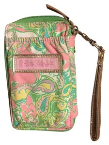 Lilly Pulitzer Wristlet/Iphone 5 case