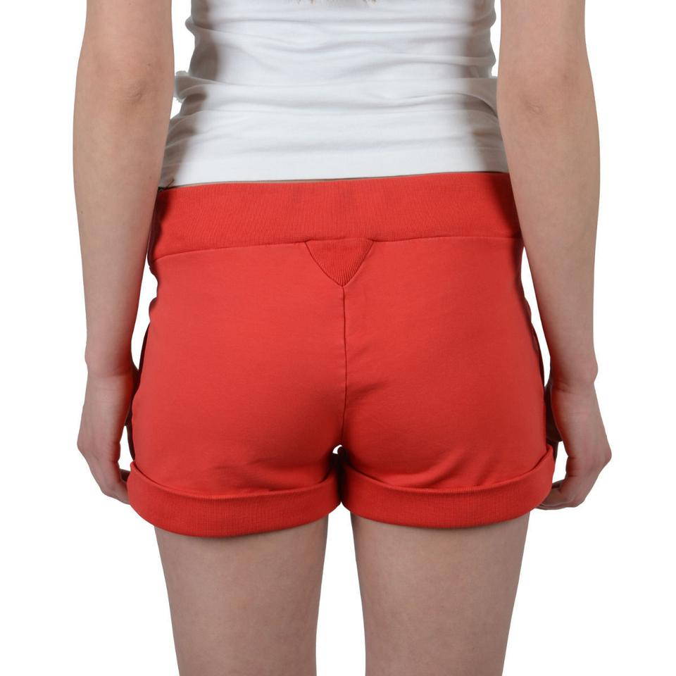 51d3a0fda6 DSquared Red Applique Decorated Flat Front Casual Shorts Size 8 (M ...