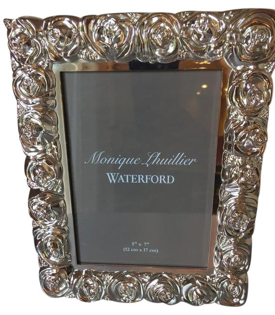 Item - Silver New Waterford Sunday Rose 5x7 Frame