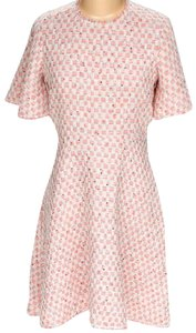 Rebecca Taylor short dress Peach & White Tweed Fully Lined A-line on Tradesy