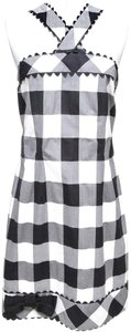 Sara Campbell short dress White, Black on Tradesy