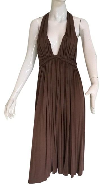 Item - Brown Baby Got Back Mid-length Casual Maxi Dress Size 6 (S)