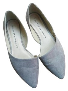 Chinese Laundry Suede D'orsey 6.5 Light Gray Flats