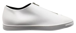 Stella McCartney Faux Leather Pointed Toe Padded Insole Rubber Sole Made In Italy white Athletic