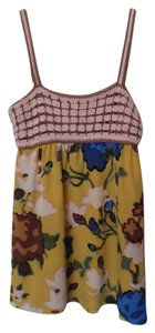 Missoni New Sleeveless Top Pink, yellow, blue, green +