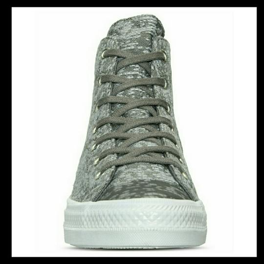 Converse Grey and White Athletic Image 2