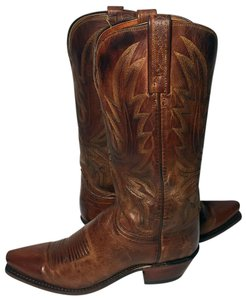 Lucchese Women Cowgirl 7 Western 7 Women Size 7 Brown Boots