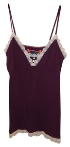 American Eagle Outfitters Top Burgandy