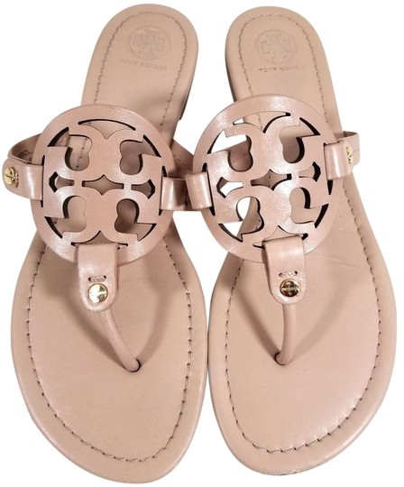 9533c30be Tory Burch Flip Flops Bold Logo Cutout S N 21168647 Made In Brazil Makeup  Leather ...