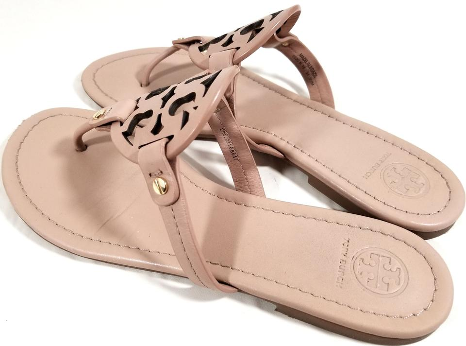 910f7a9b9 Tory Burch Flip Flops Bold Logo Cutout S N 21168647 Made In Brazil Makeup  Leather. 1234567
