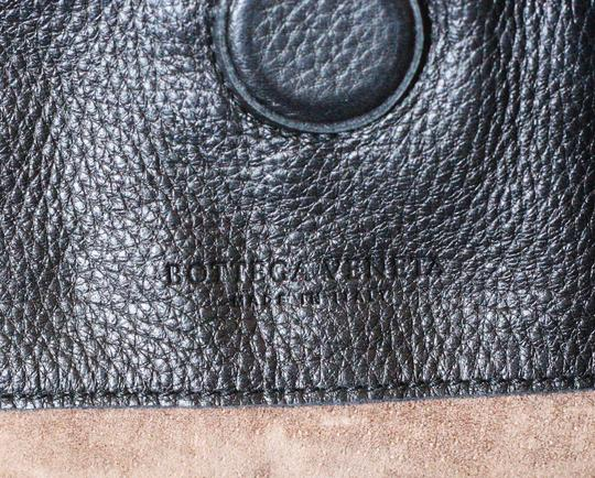 Bottega Veneta Leather Designer Large Tote in Black Image 5