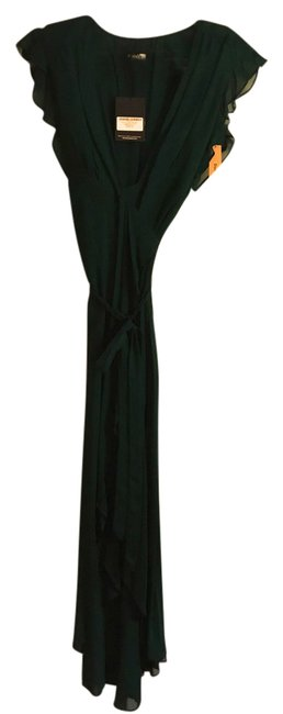 Item - Emerald Green Charlene Mid-length Night Out Dress Size 4 (S)