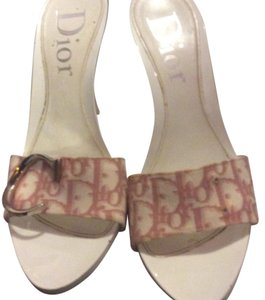 Dior pink and white Pumps