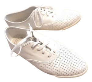 Marc Jacobs Oxford Sneakers Perforated white Flats