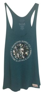 Diamond Supply Co. Top Teal