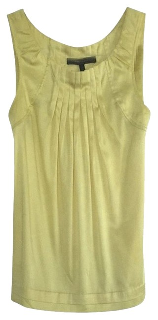 Preload https://item4.tradesy.com/images/bcbgmaxazria-top-yellow-2190603-0-0.jpg?width=400&height=650