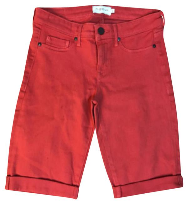 Parker Smith Coral Kipper Shorts Size 4 (S, 27) Parker Smith Coral Kipper Shorts Size 4 (S, 27) Image 1