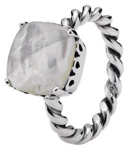 PANDORA Mother of Pearl Sincerity Twist Ring