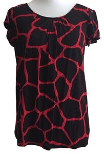 Michael Kors Top Black and Red