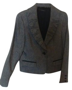 Laundry by Shelli Segal Gray Tweed Jacket