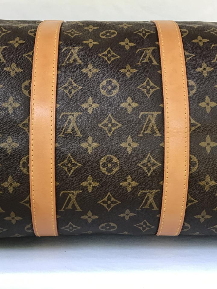 ae900f854a1 Louis Vuitton Keepall Monogram 50 Brown Canvas Weekend/Travel Bag 41% off  retail