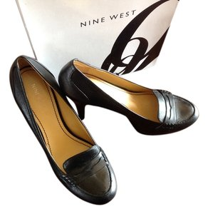 Nine West Platform Black Pumps