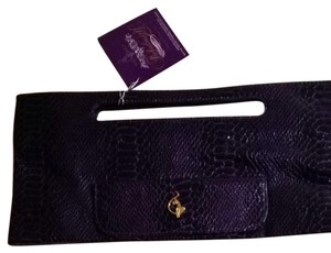 Baby Phat Purple Clutch