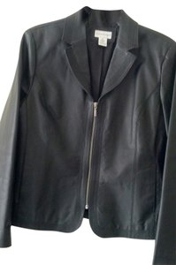Kim Rogers Leather Gentle Fit Leather Jacket