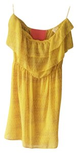 Other short dress Yellow on Tradesy