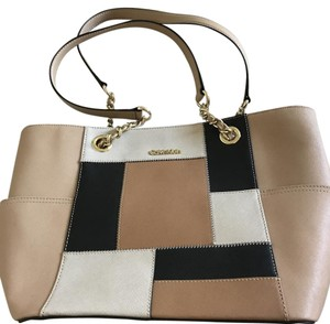 Calvin Klein Tote in Tan, Beige and Black