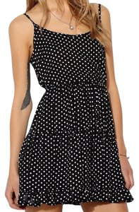 Tela short dress Polka Dot Urban Outfitters Mini on Tradesy