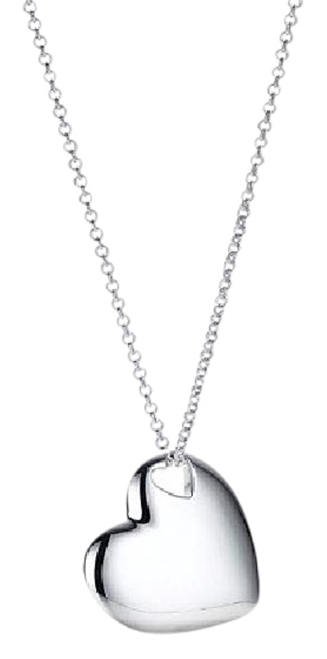 Tiffany co sterling silver double cut out heart pendant 6e12 tiffany co double cut out heart pendant necklace 6e12 aloadofball Image collections