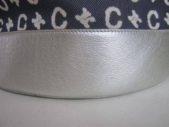 Céline Limited Edition blue and silver Travel Bag