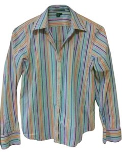 Ralph Lauren Button Down Shirt multi colored