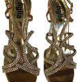 Figlia golden brown with studs Formal