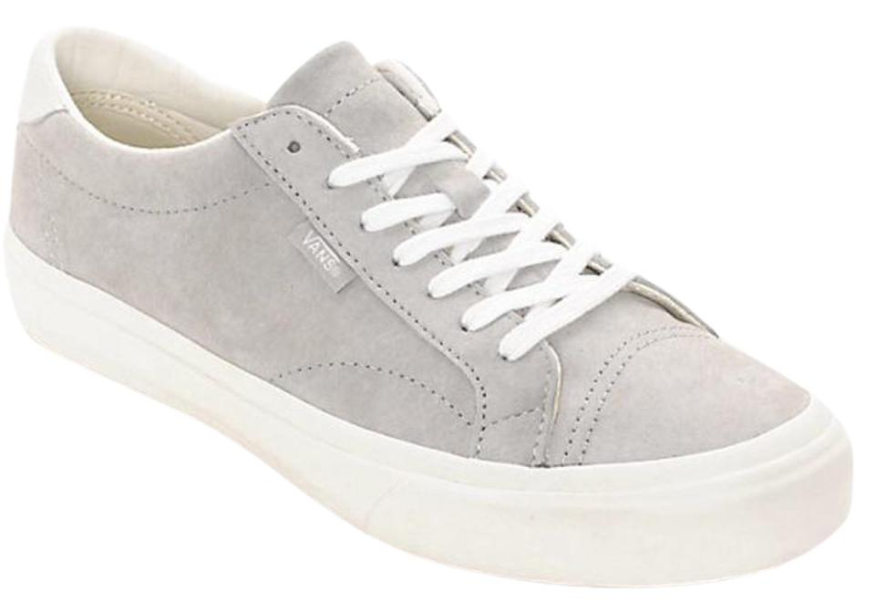 Vans Grey and White Court The New Pig Suede Court White Dx - Sneakers 37211e