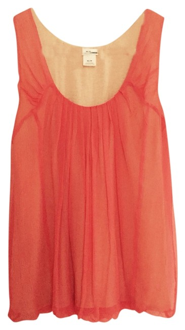 Preload https://item4.tradesy.com/images/club-monaco-coral-blouse-size-2-xs-2190863-0-0.jpg?width=400&height=650