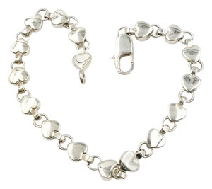 Tiffany & Co. Tiffany Heart Links Chain Bracelet 9e