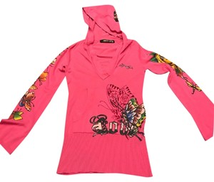Ed Hardy Butterfly Graffiti Sweatshirt