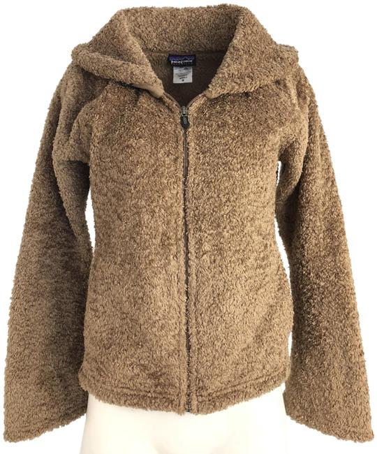 Item - Brown Synchilla Zip Front Jacket Size 8 (M)