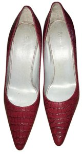 Etienne Aigner Affordable Red Pumps