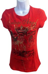 Michele T Shirt red